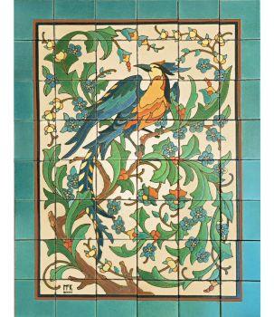 """Belle Jardin Panel 24 x 32"""" satin"""