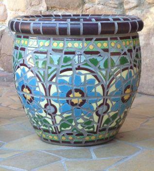 DelRey Mosaic Planter