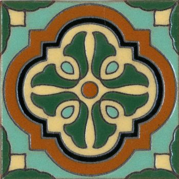 Our rendition of a classic pattern used by Catalina Pottery.