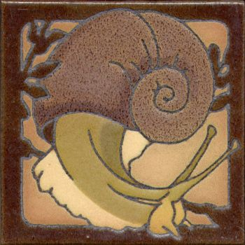 "6x6"" Critter Snail left deco satin-Classic"
