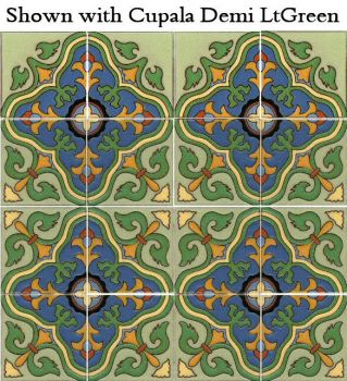 Our rendition of a popular Catalina Potteries pattern.
