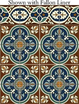 Our interpretation of a 19th century gothic revival pattern.