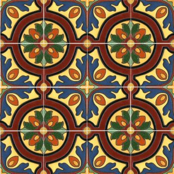 A bold, well defined pattern in the traditional European style.