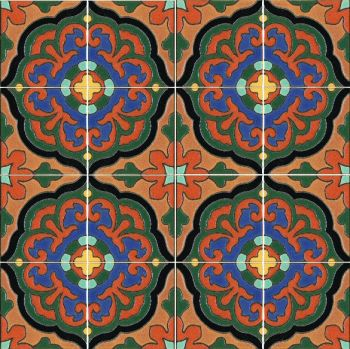 An original design in the spirit of the old Taylor tile tables.