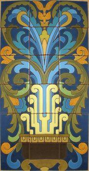 """DR Feliz Demi Panel 18x30"""" tile"""