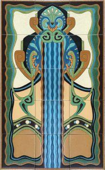 """DR Aquarius Panel 24x40"""" tile"""