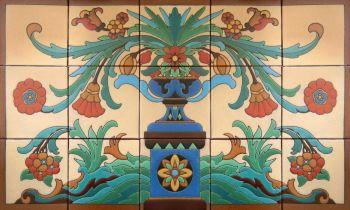 """Butler Pantry Mural  40x24"""" tile"""