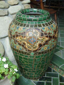 Shiraz Mosaic Urn