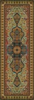 """A Persian Rug Large 234 x 78"""" tile"""