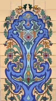 """Sheffield Garden Panel 30x54"""" tile"""