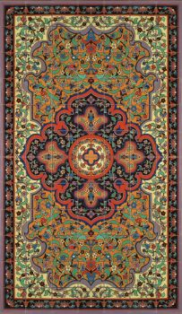 Our lovely small Persian Rug