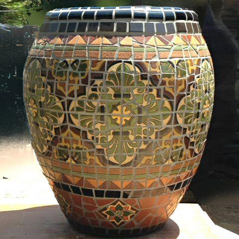 Dorset Mosaic Planter